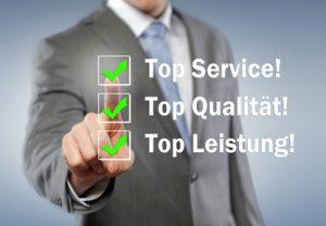 Top Service & Qualität
